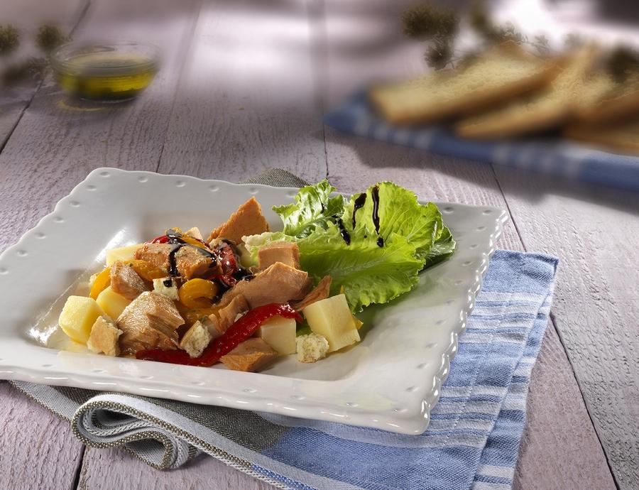 insalata peperoni e tonno picc